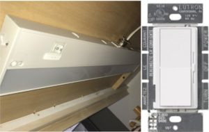 can under cabinet lights be used with a dimmer
