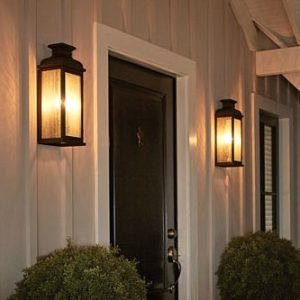 double sconce entrance light