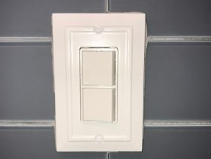 under cabinet light switch