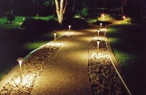 outdoor path lighting