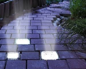 outdoor paver lights