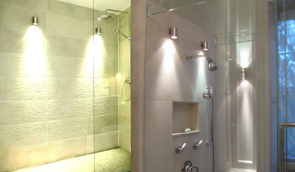 shower sconce ideas