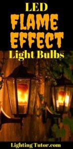led flame effect light bulbs