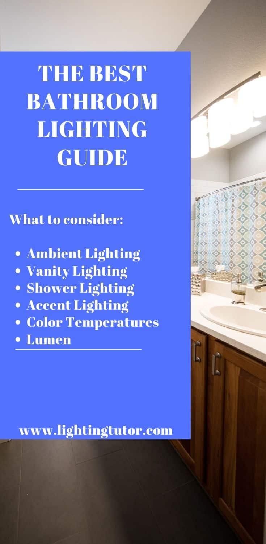 Best Bathroom Lighting Guide