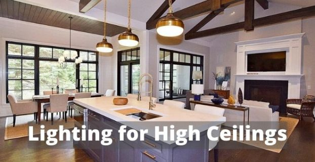 Lighting for high ceilings