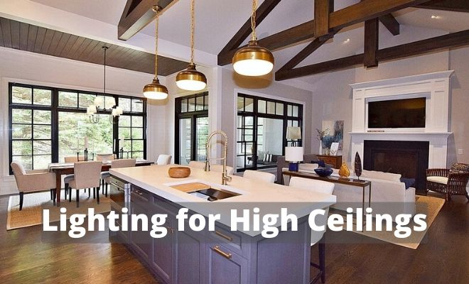 Lighting For High Ceilings Planning Guide Lighting Tutor