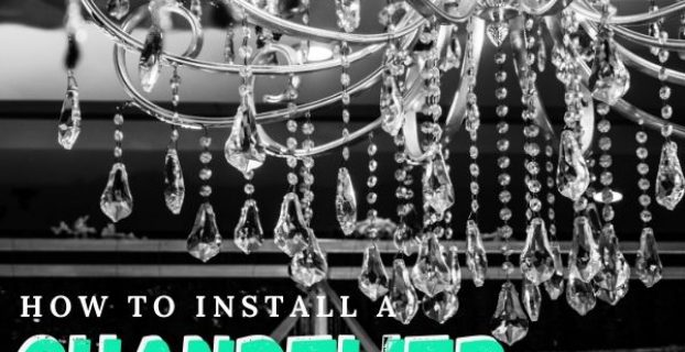 how to install a chandelier
