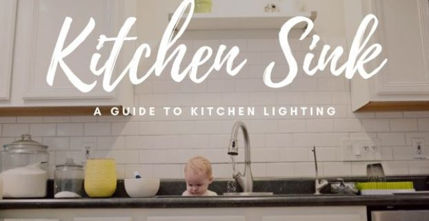 lighting over a kitchen sink