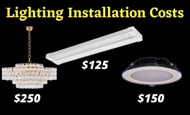 lighting installation costs