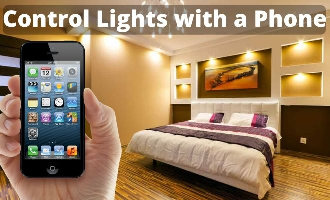 control lights with a phone