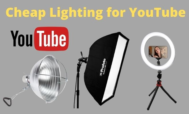 Cheap Lighting for YouTube